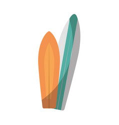 surfboards icon image vector image vector image