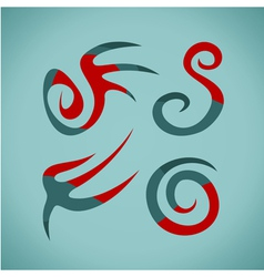 Symbol ethnic vector