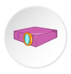 Projector icon cartoon style vector