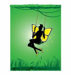 Beautiful fairy vector