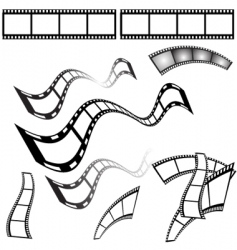 film shapes vector image