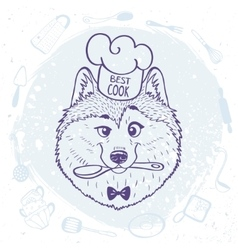 Husky best cook vector
