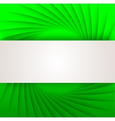 Abstract background in green color vector image