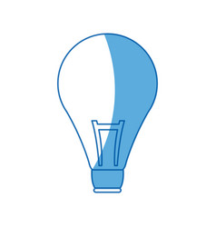 bulb creativity idea think innovation icon vector image vector image
