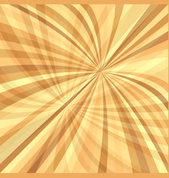 Curved ray burst background - design from curved vector