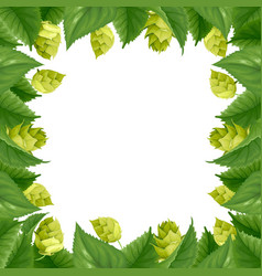 hops vector image vector image