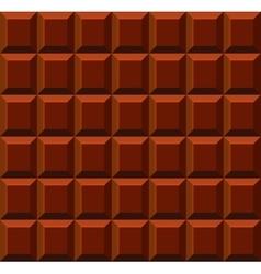 Milk tile chocolate seamless background vector