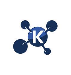 Synergy logo initial k vector