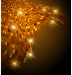 Abstract glowing background vector image