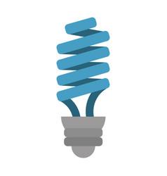 bulb cartoon fla vector image