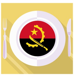 Kitchen of angola vector