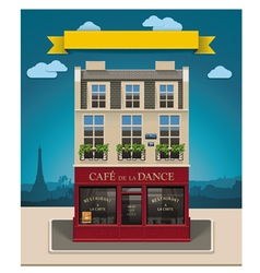 european cafe vector image