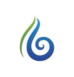 B smoke logo vector