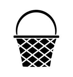 basket icon image vector image vector image