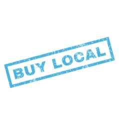 Buy local rubber stamp vector