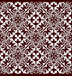 Floral ornamental decoration pattern vector