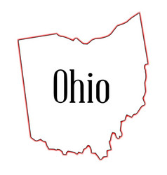 ohio vector image