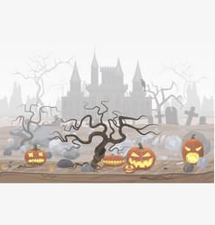 Pumpkin lanterns for vector