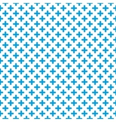 Tile blue and white background vector image