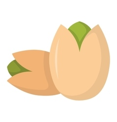 Pile of nuts vector