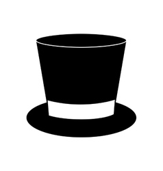 Top hat icon image vector