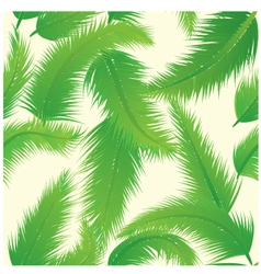 Palm leaf pattern vector