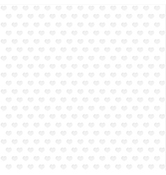 Background of gray hearts vector image