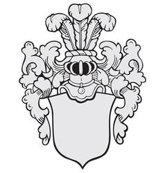Aristocratic emblem no10 vector