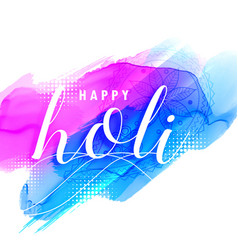 colorful background of holi festival vector image vector image