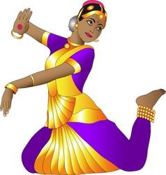 Indian dancer vector