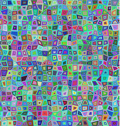 Multicolored rectangle tile mosaic background vector image vector image