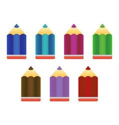 Pencils icons vector