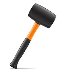 Tool hammer 03 vector