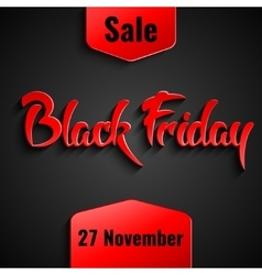 Black friday sale design template vector