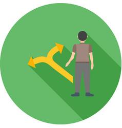 decision making skills vector image vector image