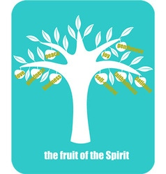 Fruit of spirit vector