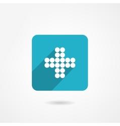 Plus icon vector image vector image