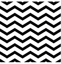zigzag wave geometric lines seamless vector image vector image