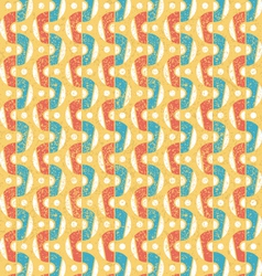 Pattern in retro style vector