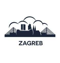 Zagreb emblem vector
