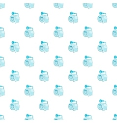 Roll of toilet paper pattern cartoon style vector