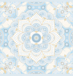Spring floral seamless pattern provence style vector