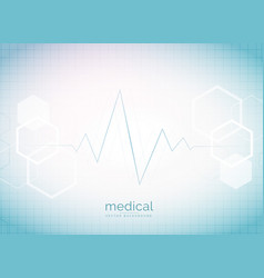 Abstract medical and healthcare background with vector