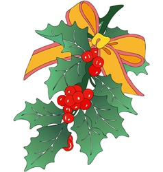 Decoration of christmas vector