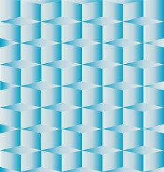 Geometric square box blue background vector
