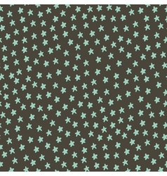 Abstract pattern stars dark vector