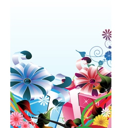 Bright gifts vector image vector image