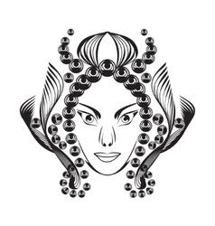 Fantasy woman vector