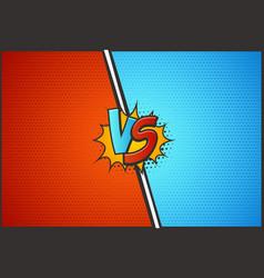 Versus battle template vs vector