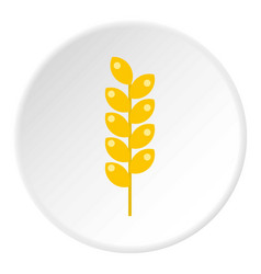 Tight spike icon circle vector